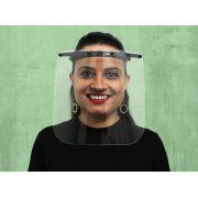 KIT com 100 Máscaras de Proteção Face Shield