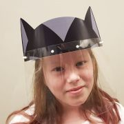 Máscara Full Face Infantil - Batgirl