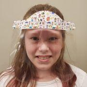 Máscara Full Face Infantil - Para Pintar