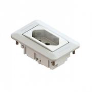 Mini Espelho Série 10 - 1 Bloco Branco (Não Acompanha Bloco)