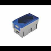 Tomada Elétrica QTMOV - 20A - Azul - Bivolt