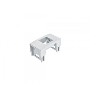 Bloco padrão Keystone - RJ45, USB Charger, HDMI - Branco