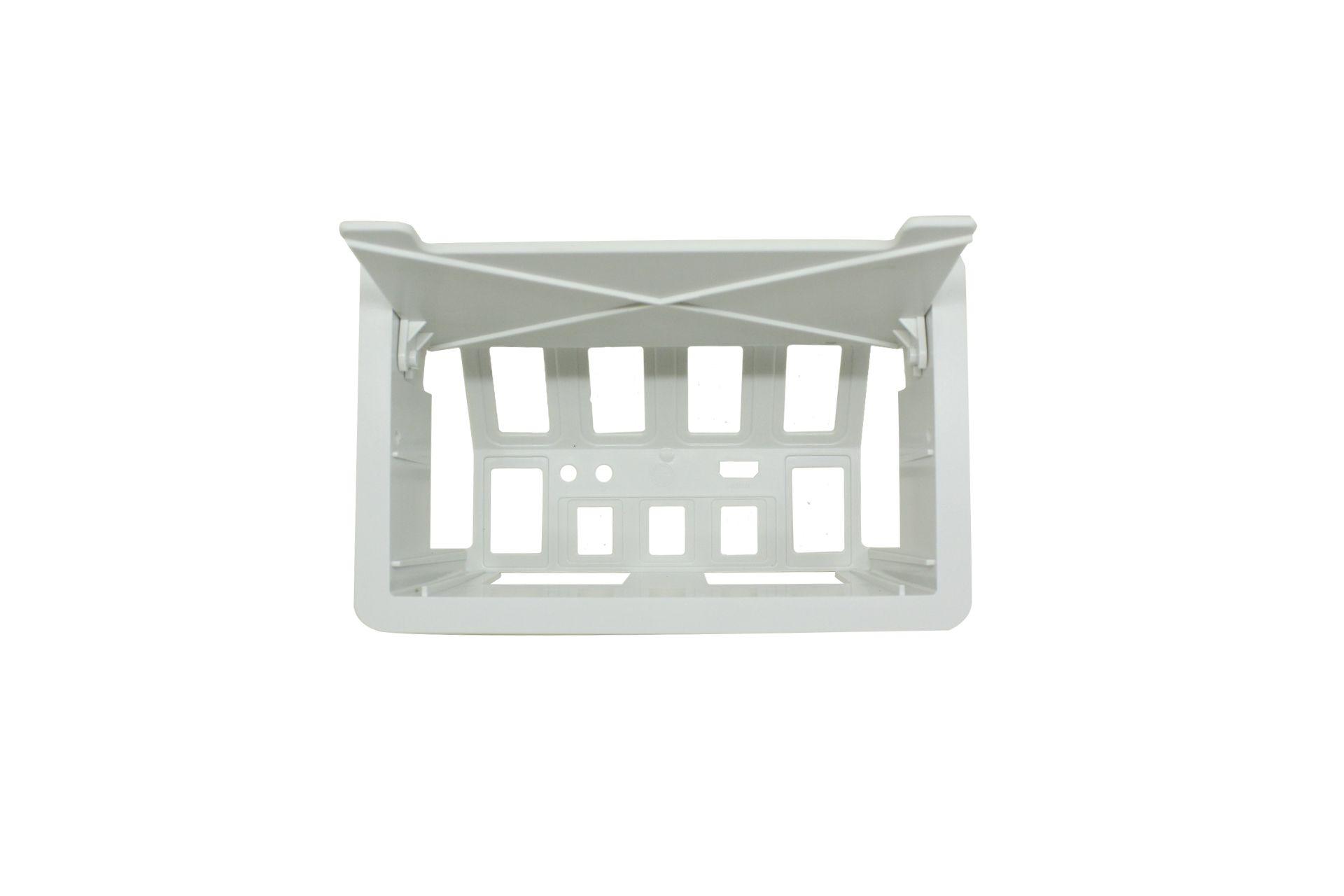 Caixa De Tomada p/ Embutir Mesa Hdmi Rede Caixa Vazia Branca