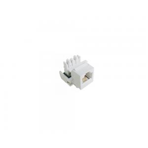 Conector RJ 11 Keystone  4 Pinos - Branco