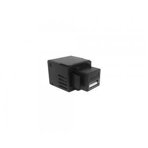 CONECTOR USB CHARGER 5V 2.1A PADRAO KEYSTONE - PRETO