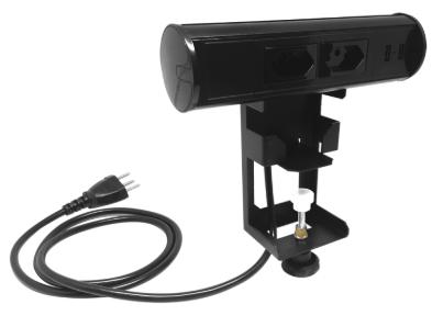 Estação Móvel - Torre de Tomada Portátil - Elétrica + USB - Cinza - Bivolt