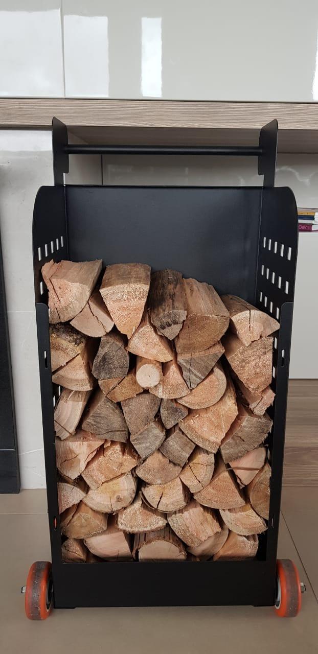 Firewood Cart - Carro Para Transporte de Lenha
