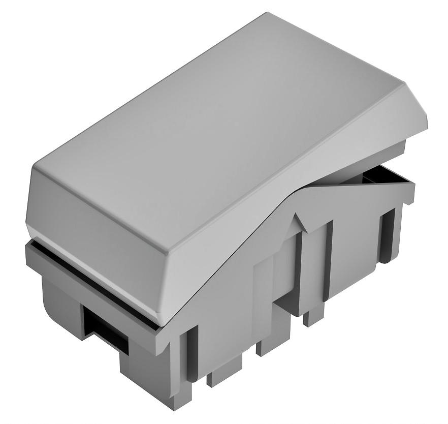 Interruptor Paralelo Three Way Pezzi BLK - Branco