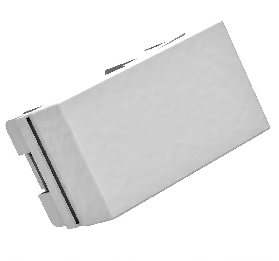 Interruptor Simples Pezzi BLK - NBR - 14136 - Branco