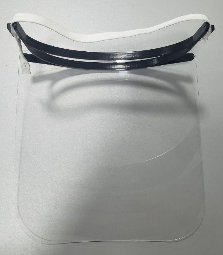 KIT com 50 Máscaras de Proteção Face Shield