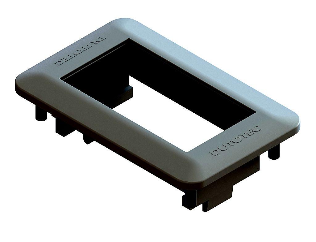 Mini Espelho Série 10 - 1 Bloco Preto (Não Acompanha Bloco)