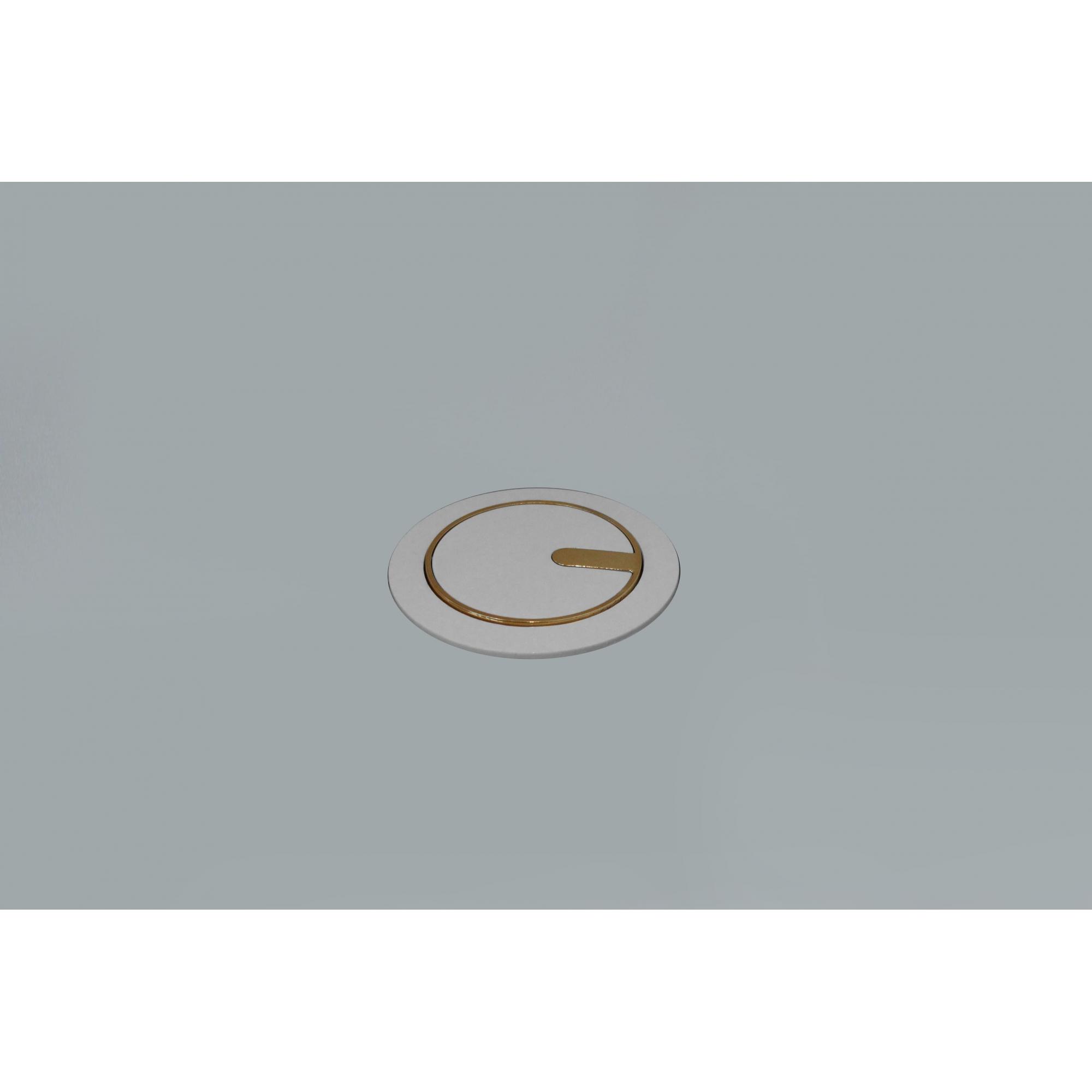 MINI TOTEM AUTOMATICO DUTOTEC 1TOM 10A+2USB- BR/OURO CLASSIC
