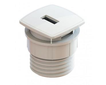 Mini USB Facility De Embutir - Branco