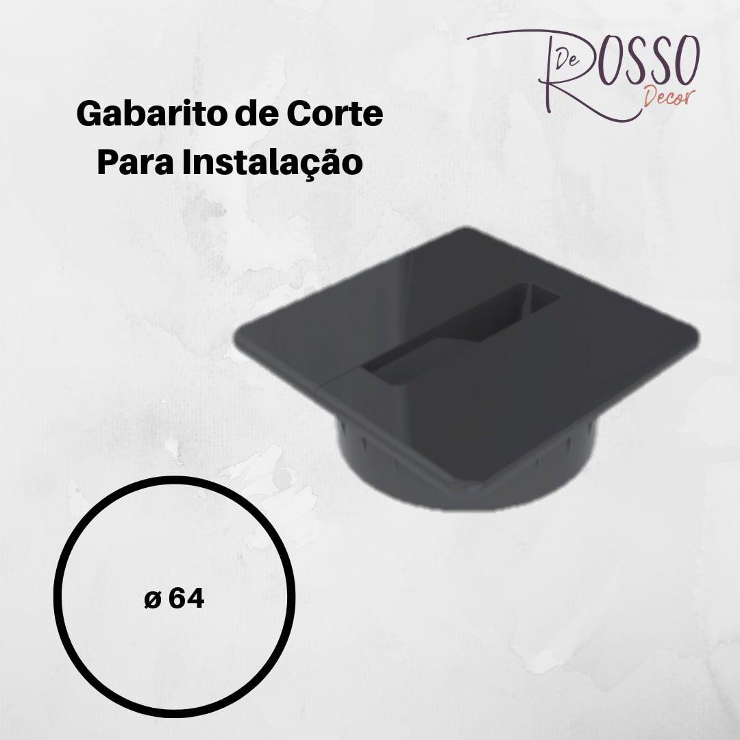 PASSA CABOS FACILITY QUADRADO - PRETO