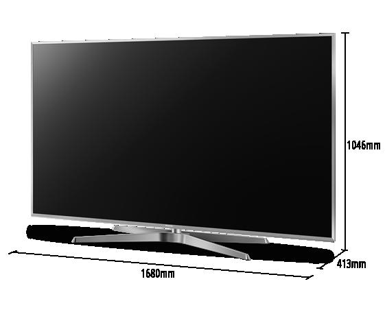 "SMART TV 4K LED 75"" PANASONIC TC-75GX880B BLUETOOTH AUDIO, GOOGLE ASSISTANT E MY HOME SCREEN 4.0"