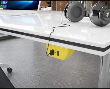 Sonic Tec Fixo 2 USB Cabo 1,7M Revestido - Preto