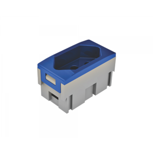 Tomada Elétrica QTMOV - 10A - Azul - Bivolt