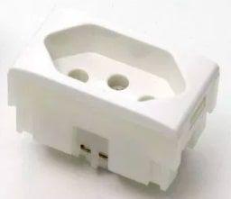 Tomada Elétrica QTMOV - 10A - Branca - Bivolt