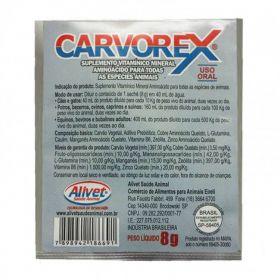 Carvorex (carvão ativado) Sachê de 8g