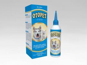 Otopet Solução de Limpeza Otológica para Cães e Gatos 100ml