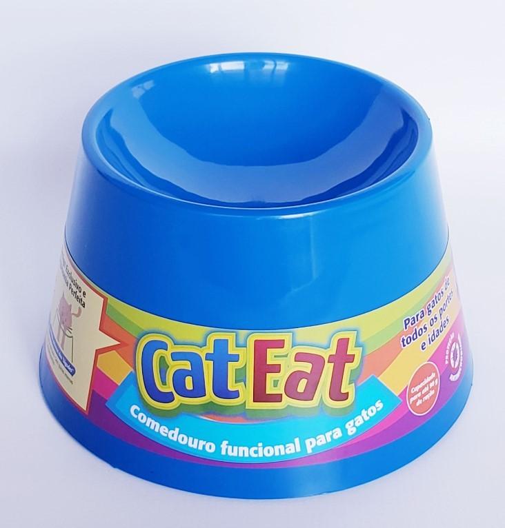 Cat Eat Azul