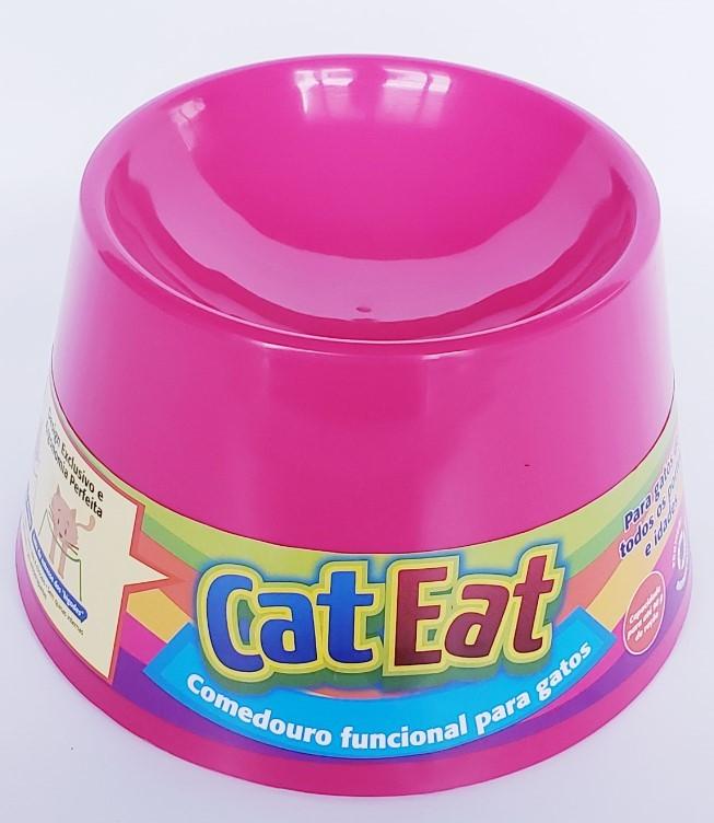 Cat Eat Pink