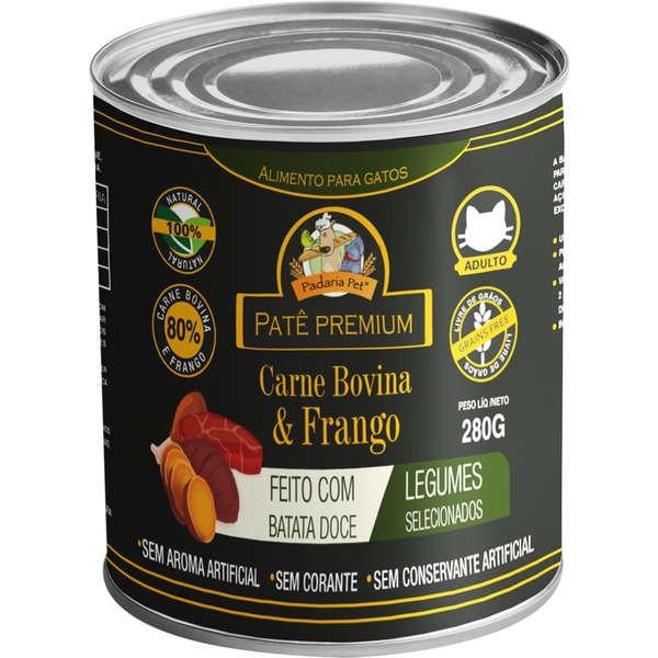 Patê Carne Bovina e Frango