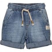 Bermuda Infantil Masculina Jeans com Barra Dobrada