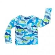 Blusa de Proteção Infantil Masculina Estampada