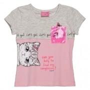 Blusa Infantil Feminina com Bolsinho Plástico
