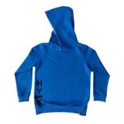 Blusa Moletom Infantil Masculina Azul Royal Johnny Fox