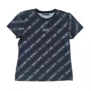 Camiseta Infantil Feminina Preta Girl Boss
