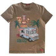 Camiseta Infantil Masculina Food Truck