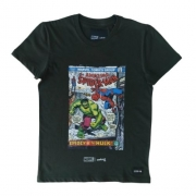 Camiseta Infantil Masculina Homem Aranha x Hulk