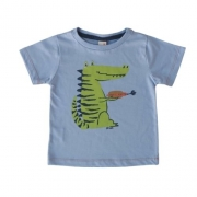 Camiseta Infantil Masculina Jacatigre Green By Missako