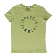 Camiseta Infantil Masculina Verde Neon Colcci World