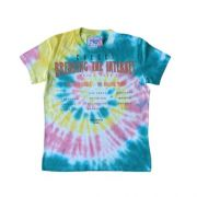 Camiseta Infantil Feminina Tie Dye Breaking the Internet