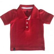 Camiseta Polo Masculina Bebê Cores Sólidas