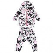 Conjunto Feminino Bebê Jaqueta e Calça Panda Baby