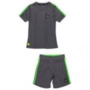 Conjunto Infantil Masculino Camiseta e Short Cinza
