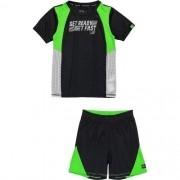 Conjunto Infantil Masculino Camiseta e Short Preto