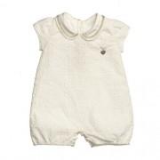 Macacão Bebê Feminino Laise Branco