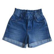 Shorts Jeans Feminino Clochard Infantil