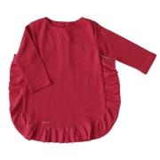Vestido Infantil Feminino Babados Laterais