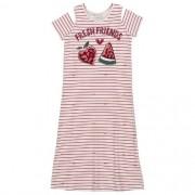 Vestido Infantil Feminino Listras Frutinhas