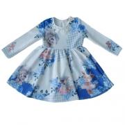 Vestido Infantil Feminino Bichinhos Pérolas
