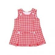 Vestido Infantil Feminino Xadrez 1+1