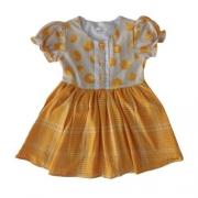 Vestido Infantil Feminino Xadrez e Poá