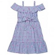 Vestido Infantil Feminino Xadrez Vichi
