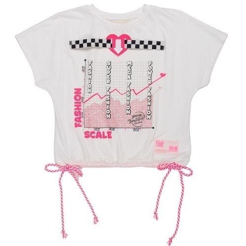 Blusa Feminina Infantil Gráfico Fashion